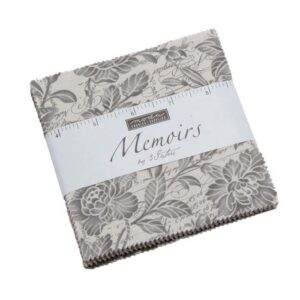 Quilting Charm Pack Patchwork MODA MEMOIRS 5 Inch Sewing Fabrics