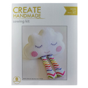Create Handmade Sewing Kit Beginner CLOUD 20x28cm New