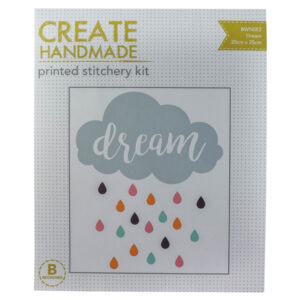Create Handmade Stitchery Kit Beginner DREAM 20x25cm New
