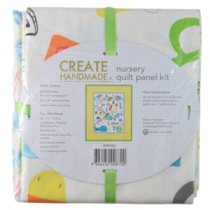 Patchwork Quilting Fabric ALPHABET ZOO QUILT KIT Nursery Panel New