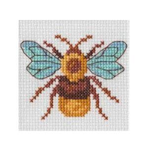 BEUTRON Cross Stitch Kit For Beginner BEE 7x7cm 578109 New