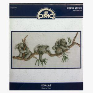 DMC Cross Stitch Kit Including Thread and Aida KOALAS New 582104