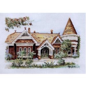 DMC Cross Stitch Kit DARNLEE MELBOURNE House New Olga Gostin 577105