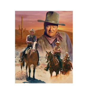 5D Diamond Painting Full Image Square Drills JOHN WAYNE 40x50cm New