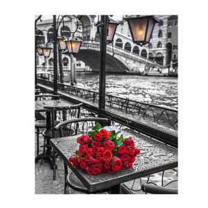 5D Diamond Painting Full Image Square Drills BUNCH OF ROSES 40x50cm