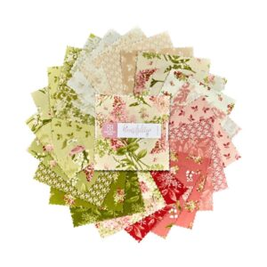 Quilting Charm Pack Patchwork MAYWOOD SENSIBILITY 5 Inch Sewing Fabrics New