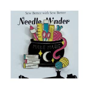Sew Better Cross Stitch Embroidery Needle Minder Keeper MAKE MAGIC