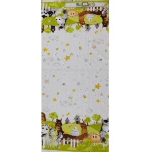 Patchwork Quilting Sewing Fabric BARNYARD BUDDIES 1/2m Cut x110cm New