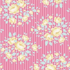 Quilting Patchwork Sewing Fabric TILDA HAPPY CAMPER MARYLOU ROSE 50x55cm FQ