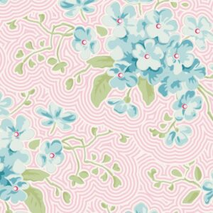 Quilting Patchwork Sewing Fabric TILDA HAPPY CAMPER PRIMROSE PINK 50x55cm FQ