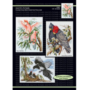 Country Threads X stitch Counted Cross Stitch Pattern Australian Birds NEW
