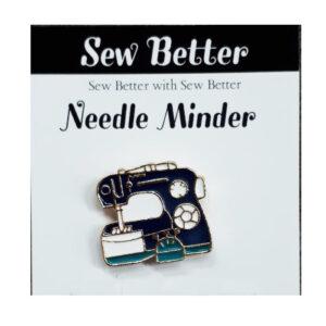 Sew Better Cross Stitch Needle Minder Keeper BLACK MACHINE