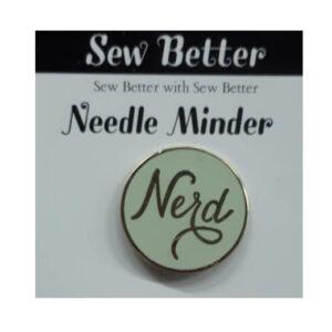 Sew Better Cross Stitch Needle Minder Keeper Nerd