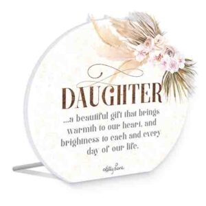 French Country Wooden Sign Bismark DAUGHTER GIFT Plaque