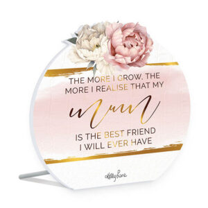 French Country Wooden Sign Mothers Day MUM FRIEND Plaque