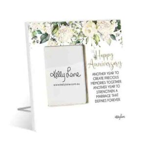 French Country Standing Occasions HAPPY ANNIVERSARY Photo Frame