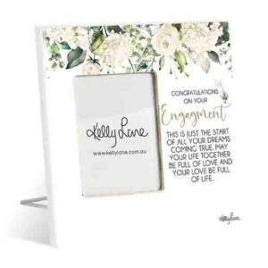 French Country Standing Occasions ENGAGEMENT Photo Frame