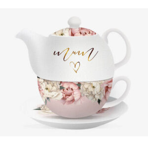 French Country Lovely Teapot Mothers Day TEA FOR ONE Mum