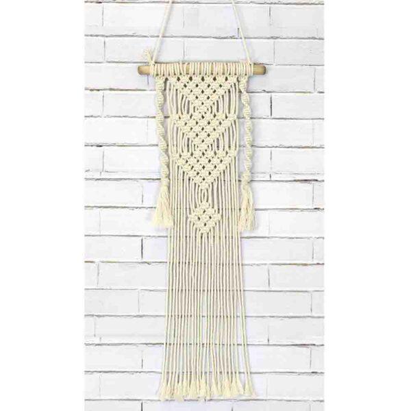 Creative Macrame Kit THREE TRIANGLES Make your Own Wall Hanger