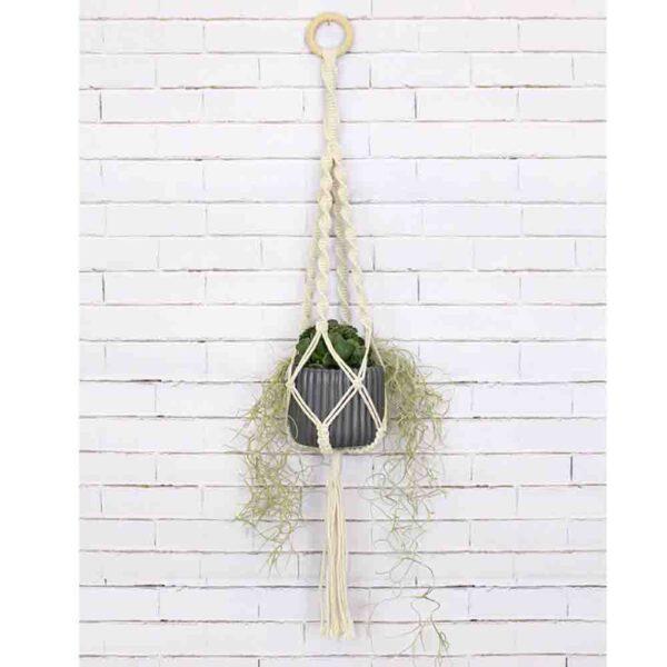 Creative Macrame Kit PLANT HANGER 4 TWISTS Make your Own
