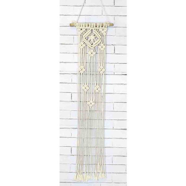 Creative Macrame Kit LACE DIAMONDS Make your Own Wall Hanger New