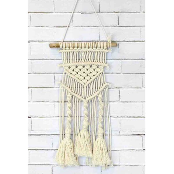 Creative Macrame Kit TASSELS and TWISTS Make your Own Wall Hanger New