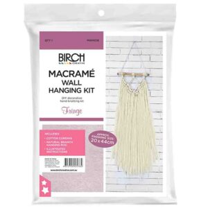 Creative Macrame Kit FRINGE Make your Own Wall Hanger New