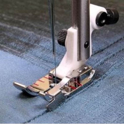 Husqvarna Viking ADJUSTABLE 1/4'' Foot with Guide for Sewing Machine
