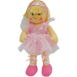 Hopscotch Soft Rag Doll ALEXA Dressed Girl Doll Medium 25cm