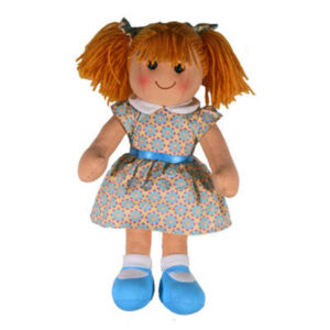 Hopscotch Lovely Soft Rag Doll EVIE Dressed Doll Large 35cm