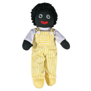 Hopscotch Lovely Soft Rag Doll GLADSTONE Boy Dressed Doll Large 35cm