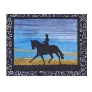 Quilting Sewing HORSE 2 Batik Quilt Pattern Kit including Fabric