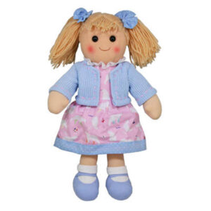 Hopscotch Lovely Soft Rag Doll ISLA Girl Dressed Doll Large 35cm
