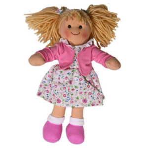 Hopscotch Soft Rag Doll TAHLIA Dressed Girl Doll Medium 25cm