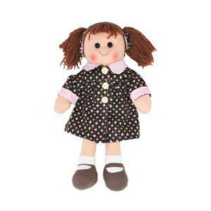 Hopscotch Lovely Soft Rag Doll ZOE Girl Dressed Doll Large 35cm