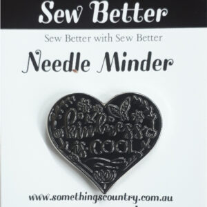 Sew Better Cross Stitch Needle Minder Keeper KINDNESS IS COOL