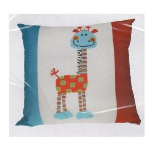 Make It Cross Stitch JUNGLE FRIENDS GIRAFFE Kit New X Stitch 581304
