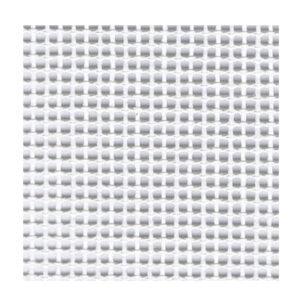 Zweigart WHITE 10 Count TWIST CANVAS Size 50X100cm