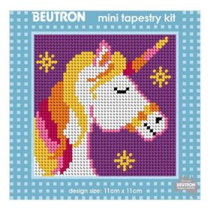 Beautron Handmade Tapestry Mini Kit Beginner UNICORN 585102