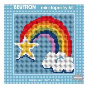 Beautron Handmade Tapestry Mini Kit Beginner RAINBOW STAR 585103