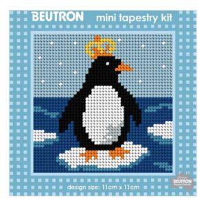 Beautron Handmade Tapestry Mini Kit Beginner PENGUIN 585107