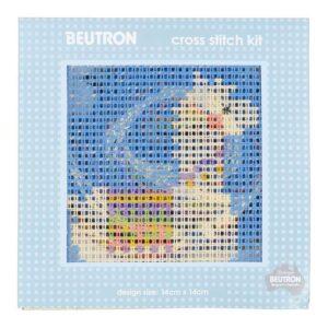 BEUTRON Cross Stitch Kit For Beginner LAMA 14x14cm 584107