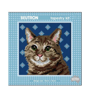 Beautron Handmade Tapestry Kit Beginner TUBBY CAT 585111