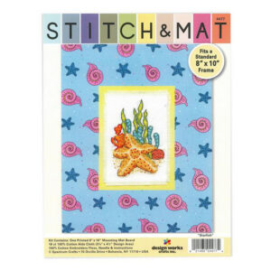 Cross Stitch STARFISH X Stitch and Mat Kit incl Threads