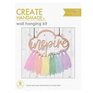 Create Handmade Wall Hanging Kit INSPIRE 24x16cm