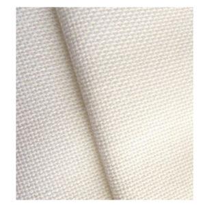 Cross Stitch 25 Easy Weave ZWEIGART LUGANA LINEN WHITE 50x70cm Fabric