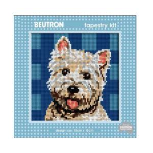 Beautron Handmade Tapestry Kit Beginner TERRIER DOG 585108