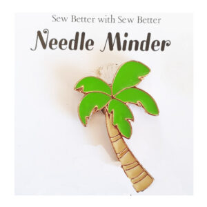 Sew Better Cross Stitch Needle Minder Keeper PALM TREE