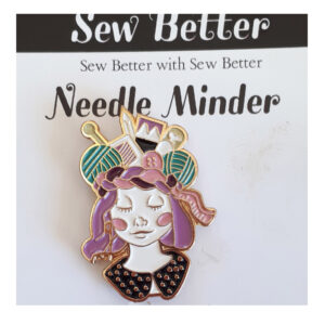Sew Better Cross Stitch Needle Minder Keeper CRAFTY QUEEN