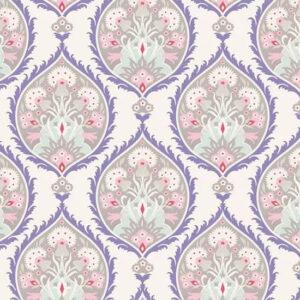 Quilting Patchwork Fabric TILDA BON VOYAGE FLOWERLEAF SAND 50x55cm FQ
